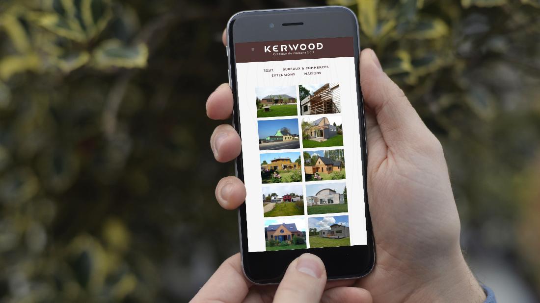 site internet kerwood maison bois