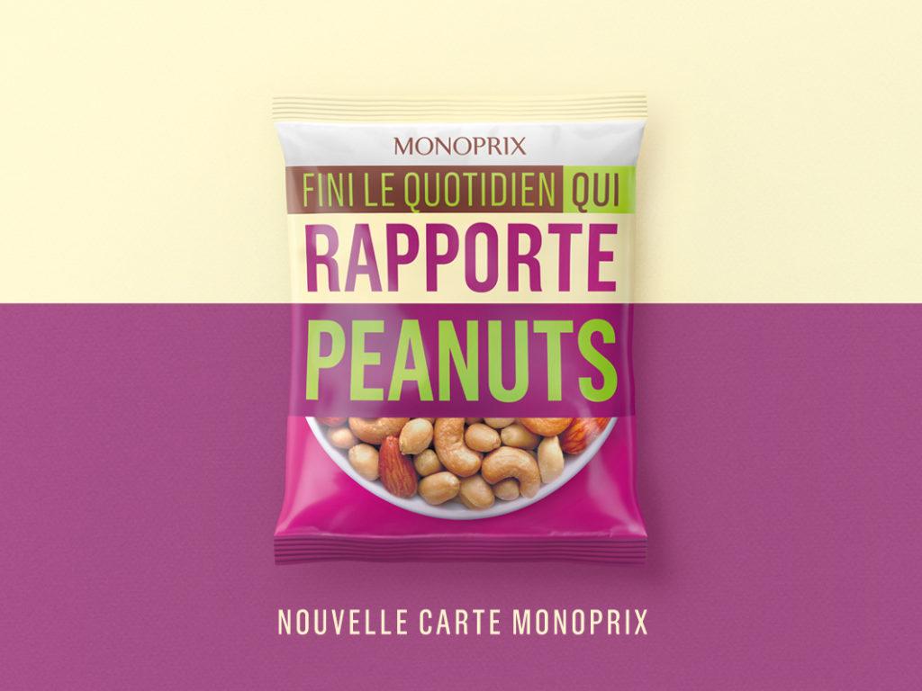 paquet de peanuts